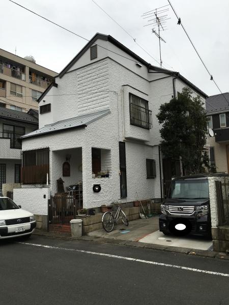 日野市のY様邸で外壁屋根塗装