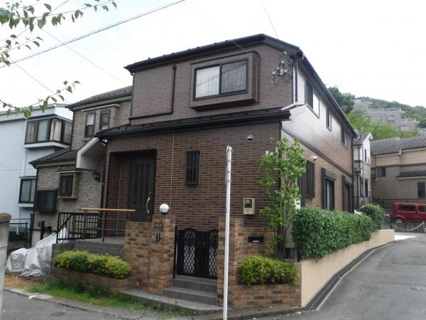 日野市のK様邸で外壁屋根塗装