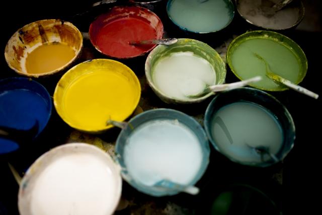 外壁塗装の種類について
