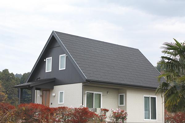 ディプロマットを使用した屋根カバー工法