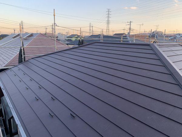 日野市で屋根カバー工法施工と外壁塗装