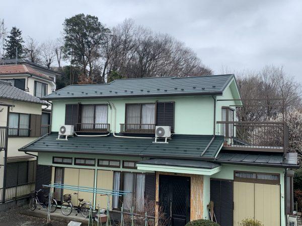 日野市で屋根葺き替え工事