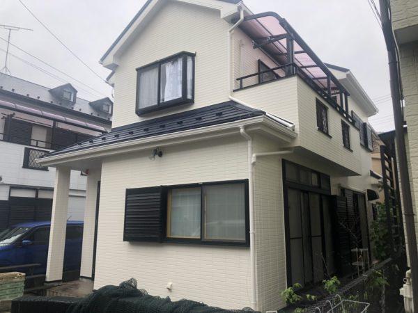日野市で屋根カバー工法・外壁塗装・雨樋交換