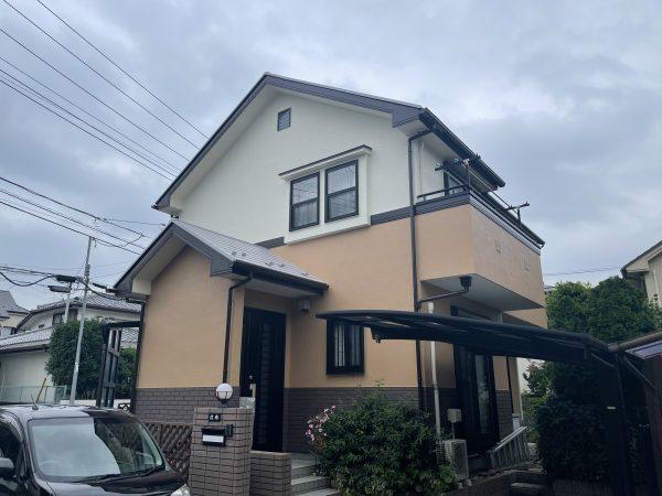 日野市で屋根・外壁塗装